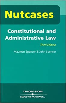 Book Constitutional and Administrative Law (Nutcases) by Maureen Spencer (2003-07-24)