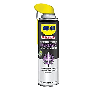 WD-40 300281 Specialist Industrial-Strength Degreaser 15 OZ (Pack of 1)