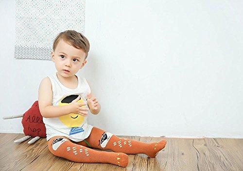 5495427194dd78 Amazon | Shenguang ベビー ソックス 赤ちゃん タイツ 女の子 レギンス 男の子 長ズボン ベビー服 出産祝い  (対象年齢:0ヶ月~12ヶ月, タイプB) | タイツ | ベビー& ...