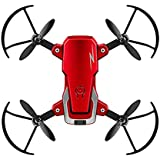 2MP Camera Quadcopter G1 Foldable Mini RC Drone WiFi Altitude Hold One Key Takeoff 360-degree Stunt High/Low Speed Quadcopter