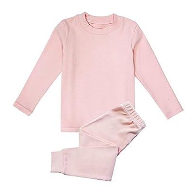 Enfants Cheris Little Girls Boys Thermal Underwear Long John Set Top and Bottom 2PC Set