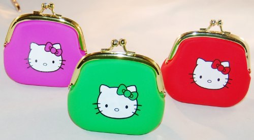 Hello-Kitty-Portable-Clutch-Wallet-Coin-Purse-with-Jewel-Closure