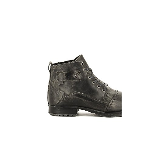 Bullboxer B358-K5-0477A Zapatos de Cordones Hombre Gris, EU 45