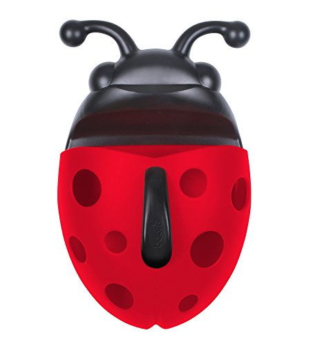 Frog Pod - Boon Bug Pod Bath Toy Scoop,Red (Discontinued by Manufacturer)