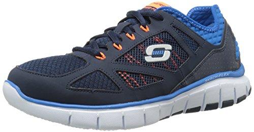 Skechers Skech-FlexLife Force - zapatilla deportiva de material sintético hombre azul - Blue (Navy/Blue Nvbl)