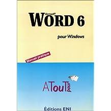 Word 6 pour Windows