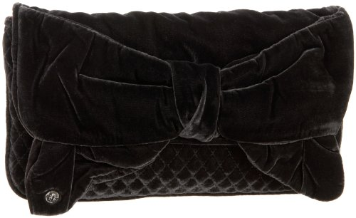 Juicy Couture Gifting Bow Capsule Clutch,Grey,one size