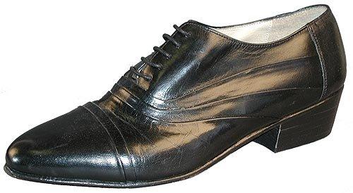 Giorgio Brutini 24485 Mens Double Folded Cap Toe Bal Oxford Shoes,Black,6.5W