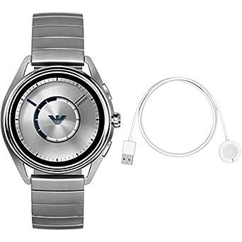 149cdbe434 Amazon | <スマートウォッチ&ワイヤレス充電器セット> EMPORIO ARMANI 腕時計 MATTEO TOUCHSCREEN  SMARTWATCH ART5006 メンズ 【正規輸入品】 | 腕時計 | 腕時計 通販