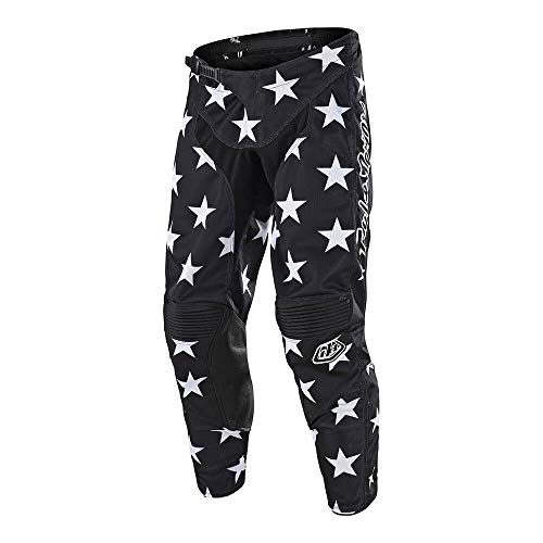 Troy Lee Designs Men's Offroad Motocross Star GP Pant (32, Black/White)