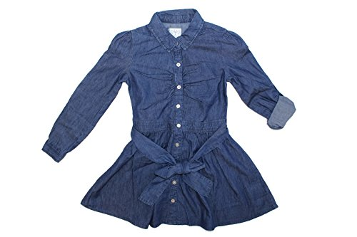 ella-moss-girls-long-sleeve-button-front-denim-blue-jean-dress-16-blue