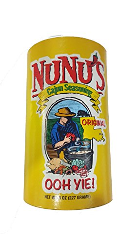 NuNu's Cajun Seasoning Original 8 ounce (Best Cajun Seasoning Brands)