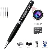 Xcellent Global 720p HD Mini Camera Pen with 16GB Micro SD Card, 4 ink Refills Video and Photo Recorder AV022