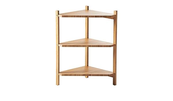 Ikea RAGRUND - Lavabo/Estante de la Esquina, el bambú - 34x60 ...