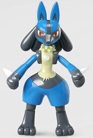 Amazon ポケモンagフィギュア ルカリオ ソフビ人形 おもちゃ