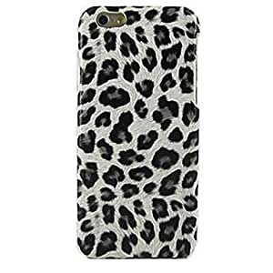 Zaki Black Leopard Pattern Case for iPhone 6