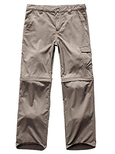 - Toomett Kids' Quick Dry Outdoor Convertible Trail Pants 9011,Khaki US S