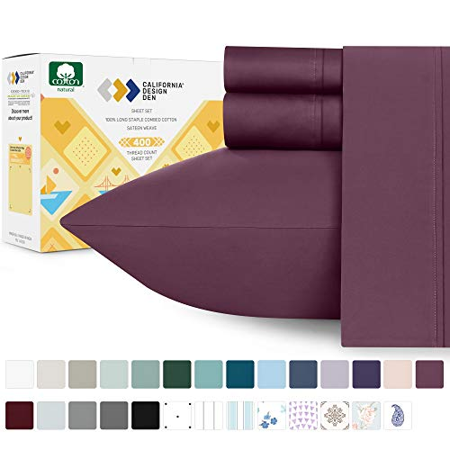 400-Thread-Count King Cotton Sheet