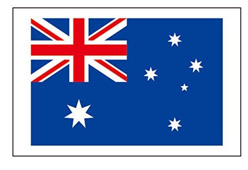 8 Large Australia Flag Tattoos: Australian Party Favors -