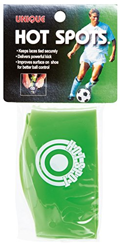 Unique Soccer Hot Spots Shoe Lace Cover, Lime Green, Youth