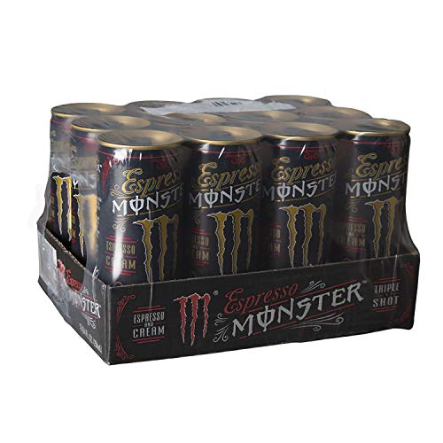 (Monster Espresso - Espresso and Cream - Triple Shot - 8.4oz. (Pack of 24) )