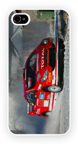 Peugeot 307 Rally Gravel Snow, iPhone 5C, Etui de téléphone mobile - encre brillant impression