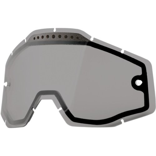 100% Racecraft/Accuri/Strata Replacement Lens Smoke Dual Pane Vented - Niagara Of Fashion Outlets