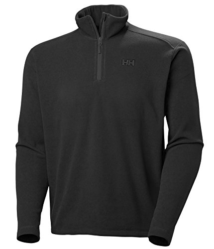Helly Hansen Daybreaker 1/2 Zip Fleece - Forro polar para hombre black