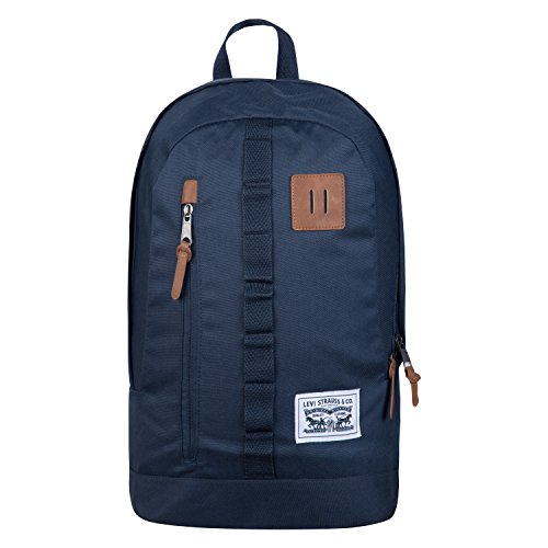 Levi's Men's Big Boys' Mad City Backpack, Dress Blues, One Size