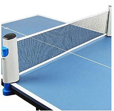 Ventamundi Kit retráctil portátil Ping Pong Convierte Cualquier Mesa en una Mesa de Tenis Ping Pong: Amazon.es: Deportes y aire libre