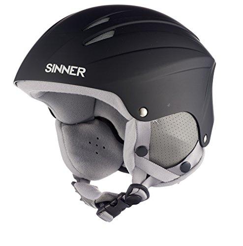 Sinner Empire Casque de ski/snowboard Noir Mat