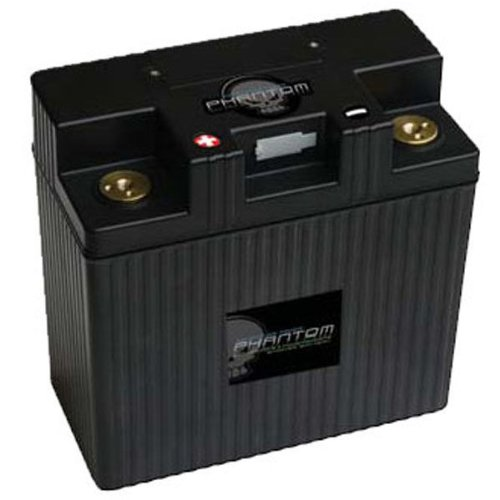 UPG 48066 - APP24A3-BS12 - Motorcycle Battery - Lithium Iron