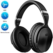 Mpow H5 [Upgrade] Active Noise Cancelling Headphones, 30Hrs Playtime Bluetooth Headphones with CVC6.0 Micropho