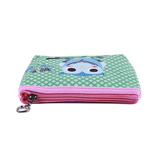 LZIYAN Cute Coin Purse Cartoon Owl Pattern Coin Purse Clutch Bag Portable Small Wallet With Zipper Storage Bag Creative Gift For Women,5# by LZIYAN (Image #3)