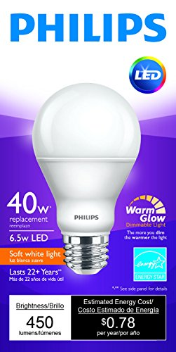 Philips-LED-Dimmable-A19-Soft-White-Light-Bulb-with-Warm-Glow-Effect