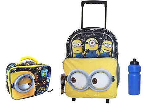 New Despicable of Me Minions Rolling Backpack
