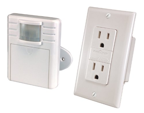 (Heath/Zenith WC-6054-WH Transmitter and Receiver Motion Receptacle Set, White)
