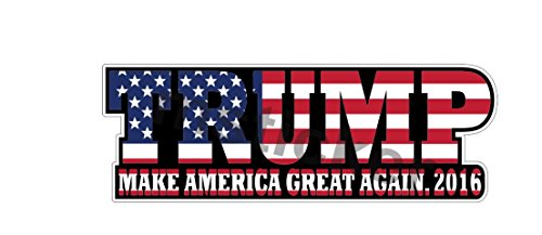 Donald America Sticker Notebook President product image