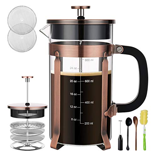 Veken French Press Coffee Maker (8 cups