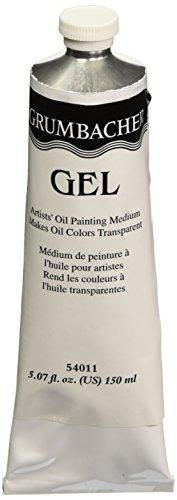 Grumbacher Transperentizer Gel for Oil Colors, 5 oz Tube -