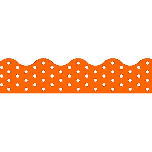 Trend Enterprises Polka Dots Orange Terrific Trimmers (T-92662)