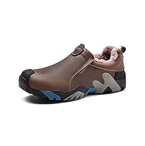 Amazon.com : HYLFF Men Hiking Shoes, Winter Warm Ankle
