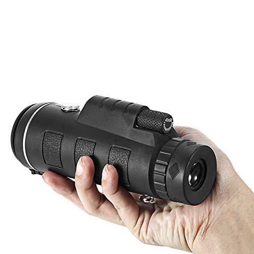 MeterMall 40 x 60 HD, visi/ón Nocturna, para Senderismo al Aire Libre Telescopio monocular de Alta Potencia