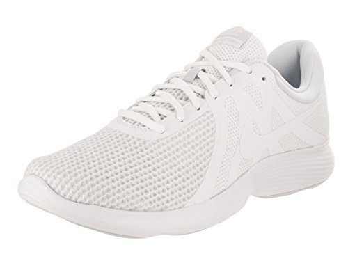 best NIKE Men's Revolution 4 Running Shoe White/White Pure Platinum geniue stockist cheap price sale authentic outlet with mastercard MHNBR
