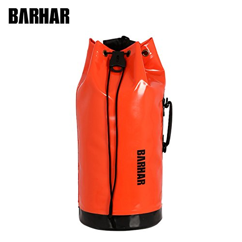 BARHAR 25L PVC Tube Climbing Rope Backpack for Caving Mine Exploration Climbing by BARHAR