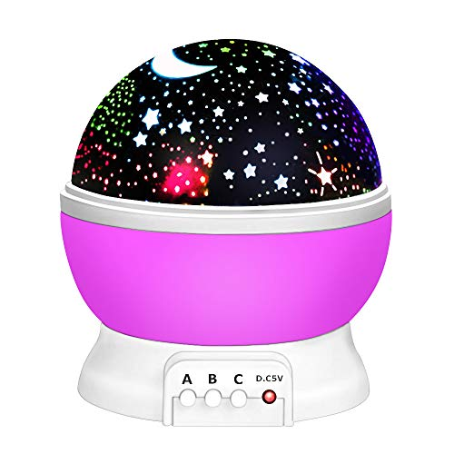 Toys for 2-12 Year Old Boys, Our day Night Light Moon Star Best Easter Gifts for Kids Toys for 7-12 Year Old Boys 3-12 Year Old Boy Girl Gifts Toys -