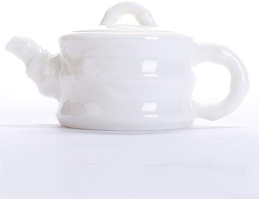 Cafetera Tetera Porcelana Blanca De Cordero Jade Tetera De La ...