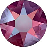 2000, 2038 & 2078 Swarovski Flatback Crystals Hotfix Light Siam Shimmer | SS34 (7.2mm) - 30 Crystals | Small & Wholesale Packs
