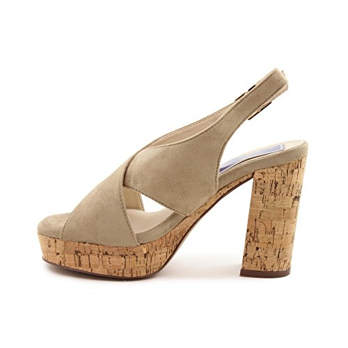 Femme Ouvert 110143 Taupe Benavente Bout ZnSzwA