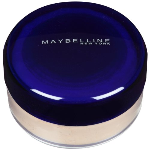 Maybelline New York Shine Free Oil-Control Loose Powder, Light; Advanced 100% Oil-free Formula Glides on Evenly and Controls Shine (0.7 -